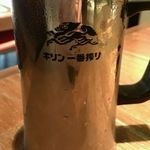 焼肉トラジ 芝大門店 - 生ビール(620円)