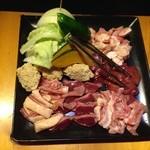 彩どり亭 - 人気地鶏7種盛り 2,000円