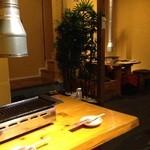 彩どり亭 - テーブル席