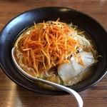 くるまやラーメン - 料理写真:ネギみそラーメン