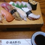 福太郎すし - 料理写真:並にぎり