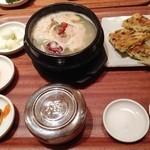 草の花 - 【New!】参鶏湯とチヂミ定食