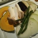 溶岩焼肉ダイニング bonbori - (bonboriコース)野菜盛合せ