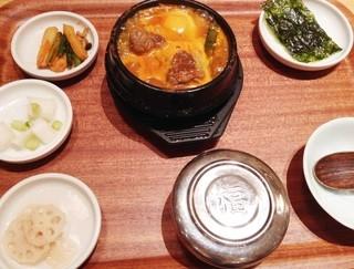 草の花 グランデュオ立川店 - 【New!】骨付きカルビタン定食