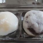 米満老舗 - 栗もちと田舎饅頭