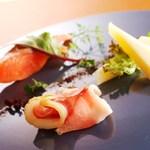 西村屋ホテル招月庭 レストランRicca - 料理写真:前菜・アンティパストミスト(一例)