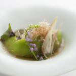 西村屋ホテル招月庭 レストランRicca - シルク茄子(シンメイナス)の揚げ出し風