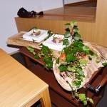 西村屋ホテル招月庭 レストランRicca - とある日のデザート(サプライズ!)