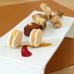 西村屋ホテル招月庭 レストランRicca - ある日のランチのお茶菓子