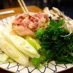 元祖 むらさき - 特上きりたんぽ鍋(2320円/1人前)