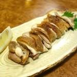 元祖 むらさき - 比内鶏塩焼き(1300円)