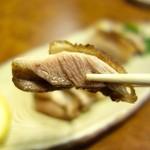 元祖 むらさき - 比内鶏塩焼き(1300円)・アップ