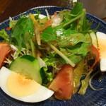 31447800 - 野菜いっぱいのサラダ