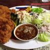 ひなた - 料理写真:パートⅢ 750円 チキンカツとさっぱり焼肉