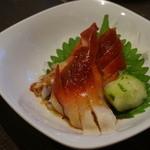 ぼんぢりや - ほっき貝のピリ辛ポン酢