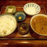 炉ばた焼 みちのく - おふくろ定食 (600円)