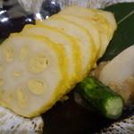 九州の旬 博多廊 - 揚げたて辛子蓮根