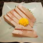 季節料理くら井 - 天然ブリの刺身 今回のやつは500円