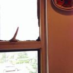 イルベッカフィーコ - 通りを見下ろす窓際