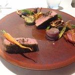 レストラン マノワ - 本日のお肉料理(2014.10)