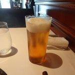 レストラン マノワ - ノンアルコールビール(1杯目のビールとビジュアルは一緒)(2014.10)