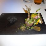 レストラン マノワ - 北海道の秋刀魚(本日の前菜)(2014.10)