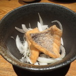 魚匠 銀平 道頓堀店 - 鯛の南蛮漬け