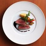 西村屋ホテル招月庭 レストランRicca - 但馬牛熟成肉のステーキ(食べ比べ)