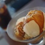 リトルフォートコーヒー - 料理写真:アフォガード