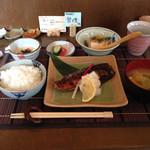 つくしんぼ - サバの西京焼き ¥1100