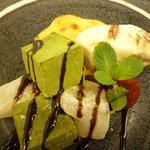 アンジェロ - わらび餅と焼き芋のデザート ~種子島産の安納芋で~