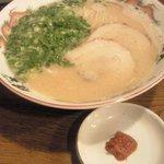 暖暮 - ラーメン(麺超かた)辛味別盛り
