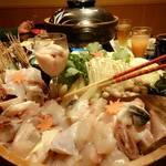 やま咲 - ふぐ鍋は絶品。5500円。雑炊も美味。