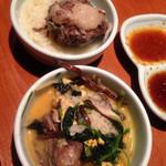 壱語屋 - 温麺、辛いクッパ