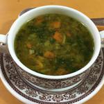 シーキャッスル - コースのスープ