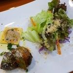 葡萄酒キッチンバルCasares - サラダと前菜