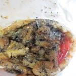グルグルチキン - やや甘口の女性にも大人気のケバブ、日本人の好みにアレンジしてあってとても美味しかったです。