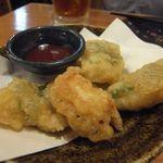 鳥貴族 - 鶏しそ巻き天ぷら