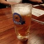 まさや - 生ビール(中)