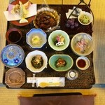 鴨川 - 料理写真:お膳