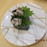 弁慶寿司 - わさび味のたこ?