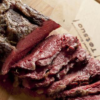 国産和牛量売りローストビーフ&超あら挽きハンバーグ
