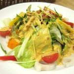 パステル - 彩り根菜のサラダ