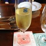 デザートカフェ長楽館 - スパークリングワイン