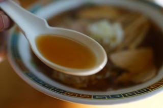 くどうラーメン - スッキリ焼き干し出汁