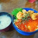 お食事処 大漁 - ウニイクラ丼