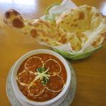 インディアン・レストラン ロタ - 料理写真:ダル&ナン♪