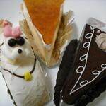 柏水堂 - プードルケーキ、チーズケース、ガトーショコラ