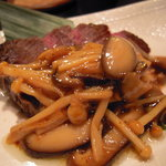 食楽幸房 - 肉と茸のコラボが美味しい〜