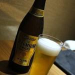 はせ茂 - プレモル瓶ビール=2014年5月